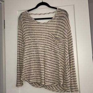 NWOT Free people low back top